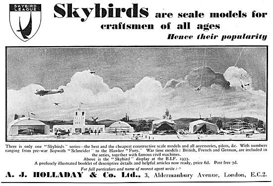 Skybirds Scale Aircraft Models For Craftsmen
