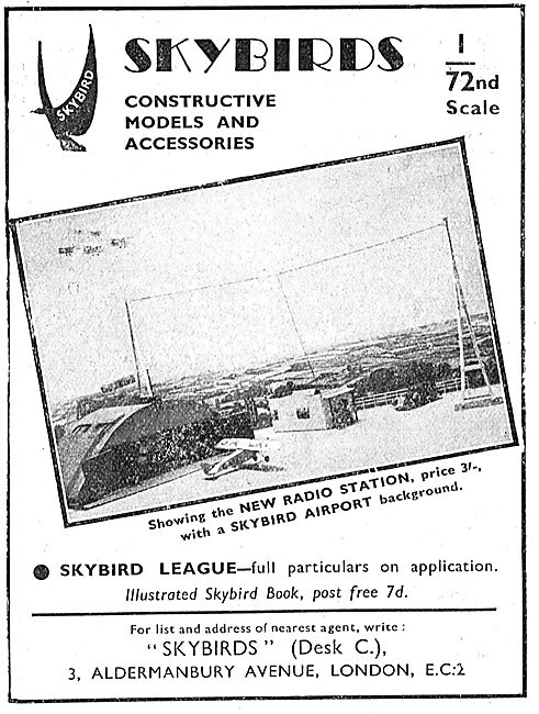 Skybirds Model Airport Featuring New Radio Station