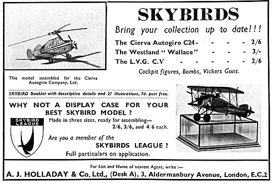 Skybirds 1/72 Scale Aircraft Models