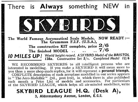 Skybirds Model Aircraft - Grumman F2F