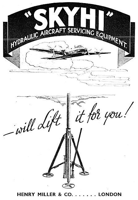 Skyhi Aircraft Jacks & Servicing Ground Equipment 1943