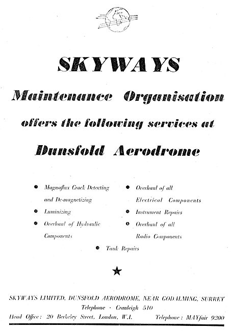 Skyways Maintenance Organisation