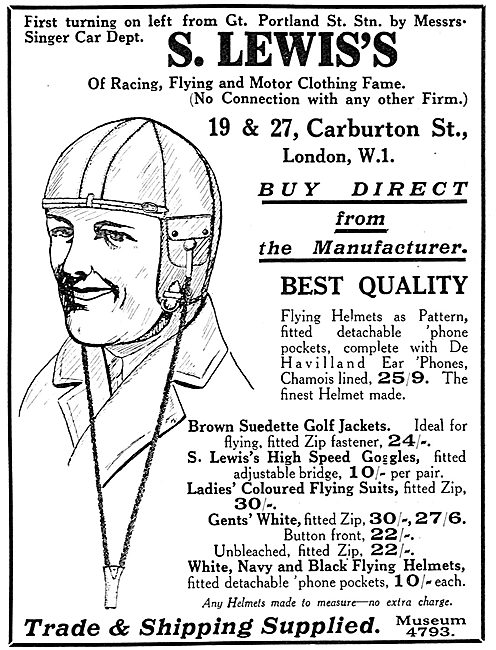S.Lewis's Flying Clothing
