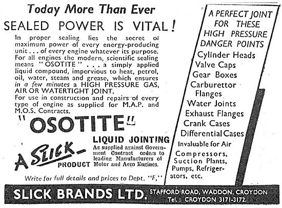 Slick Brands. Osotite Sealant