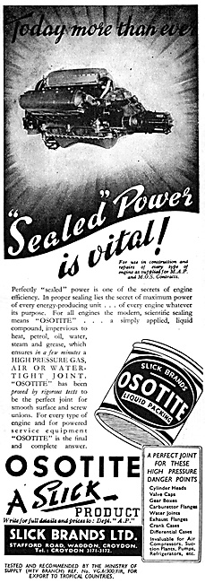 Slick Brands. Osotite Sealant