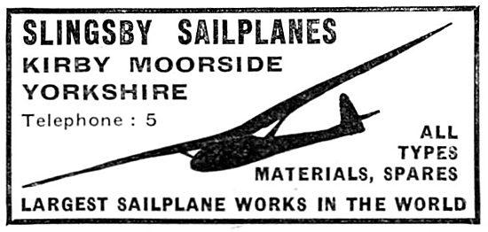 Slingsby Sailplanes (1936)