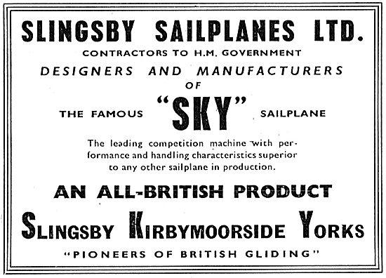 Slingsby Sky Sailplane
