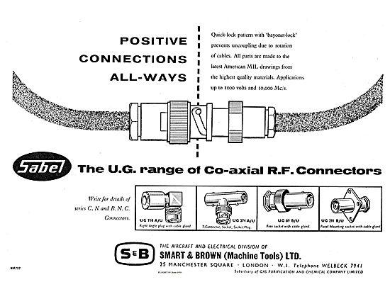 Smart & Brown Sabel UG Co-Axial RF Connectors