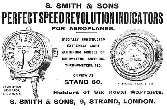 Smiths Perfect Speed & Revolution Counters