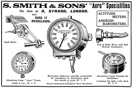Smiths Aircraft Instruments 1911