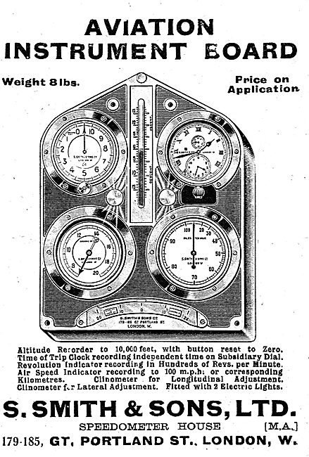 Smiths Aviation Instrument Board