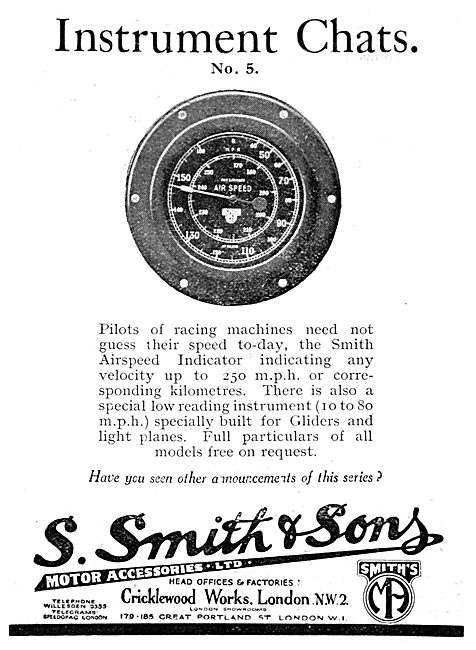Smiths Aircraft Instruments - Airspeed Indicator