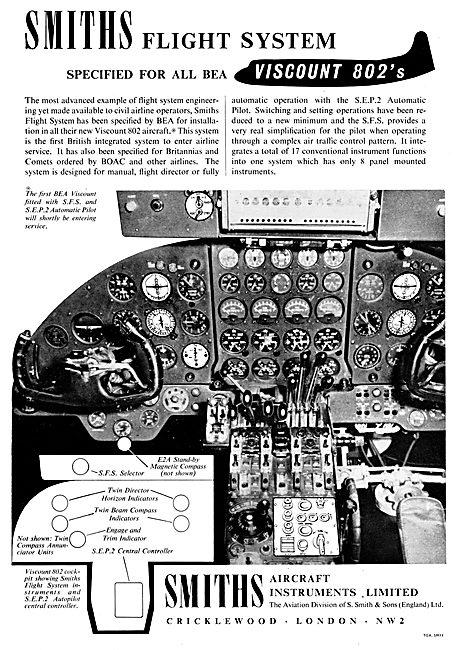Smiths Flight System S.E.P.2 Autopilot  1957