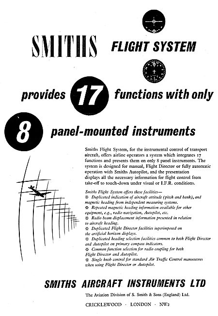 Smiths Flight Systems 1957