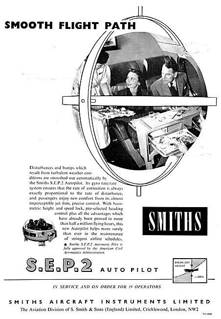 Smiths Flight Systems SEP2 Autopilot