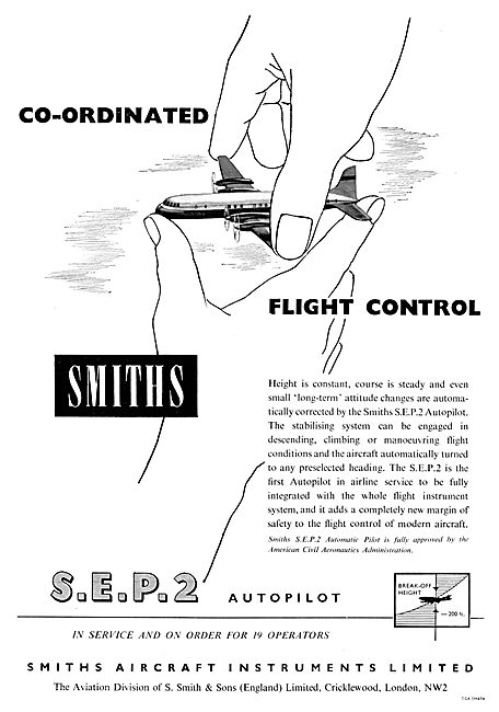Smiths Flight Systems  Smiths SEP 2 Autopilot