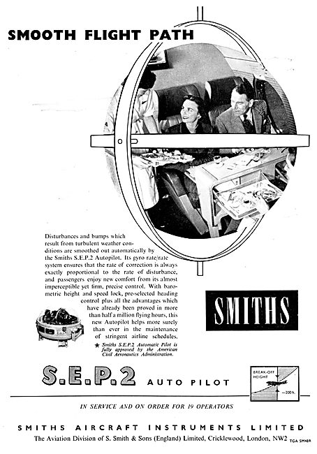 Smiths Flight Systems 1958