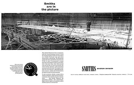 Smiths Waymouth Aircraft Fuel Gauges