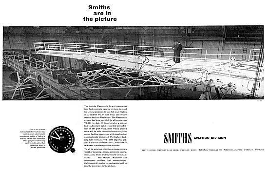 Smiths Waymouth Aircraft Fuel Gauges
