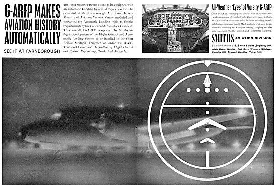 Smiths Flight Systems - Trident G-ARFP Autoland