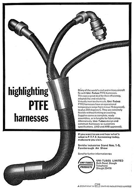 Smiths Uni-Tubes PTFE Harnesses