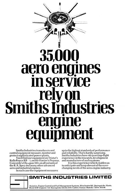 Smiths Industries Aviation Division : Smiths Engine Control