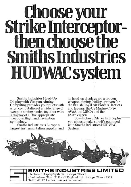 Smiths Industries Aviation Division : Smiths HUDWAC System