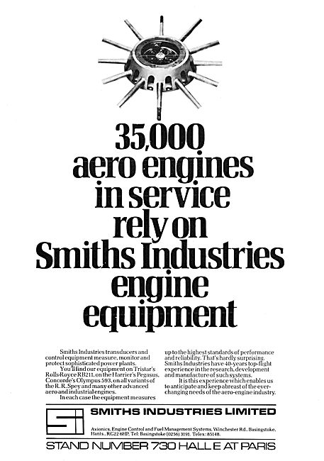 Smiths Industries : Smiths Engine Control Equipment