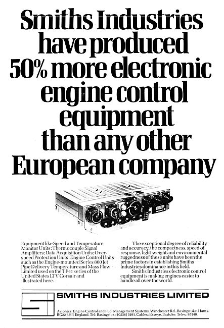 Smiths Industries : Smiths Engines Control Equipment