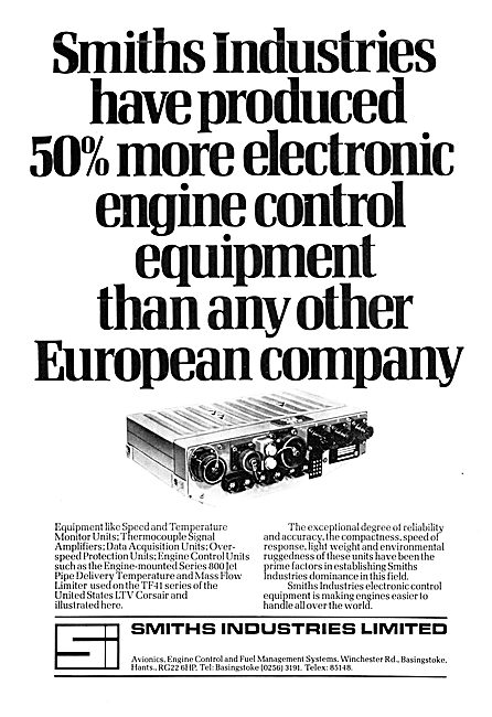Smiths Industries Electronic Engine Control Equipment