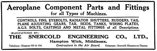 Snercold Engineering - Hampton Wick. Sheet Metal Work