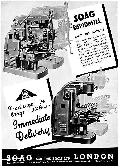 Soag Machine Tools - SOAG Rapidmill