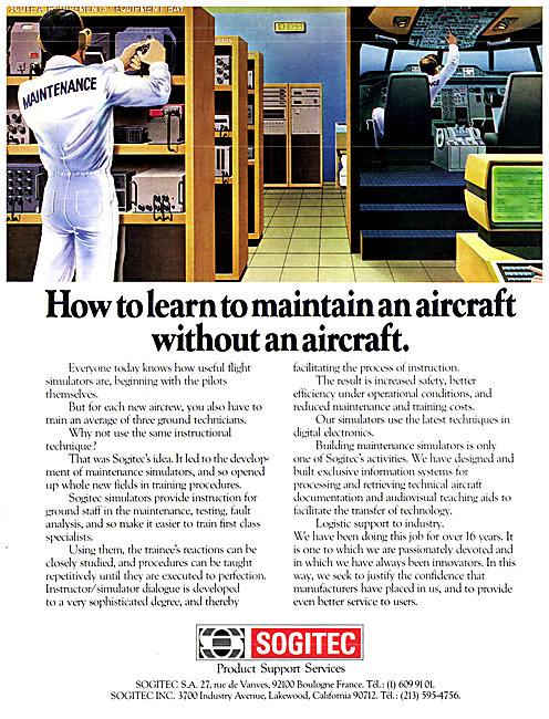 Sogitec Flight Simulation & Training Aids