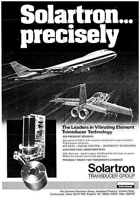 Solartron Vibrating Element Transducer Technology