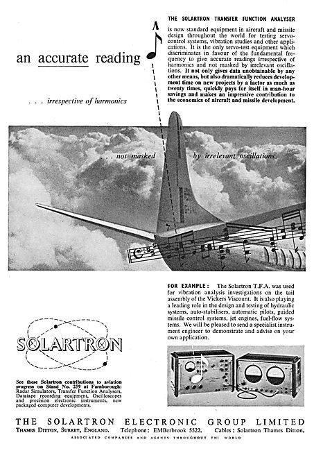 Solartron Transfer Function Analyser - Vibration Harmonics