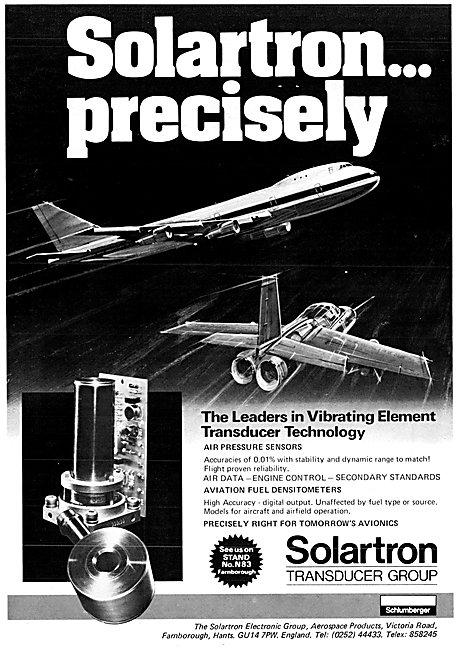 Solartron Electronic Vibrating Element Transducer Technology
