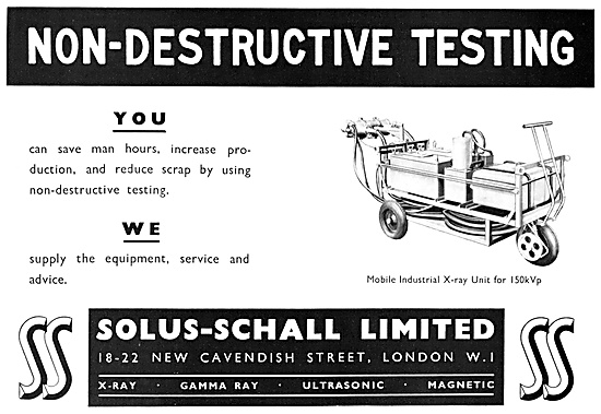 Solus-Schall Industrial Radiography. NDT X-Rays Gamma Rays
