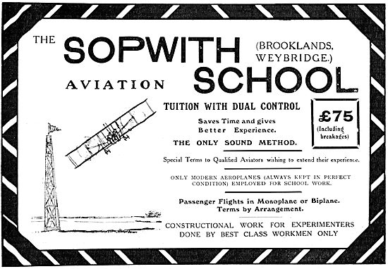 The Sopwith Aviation School - Sopwith School Of Flying