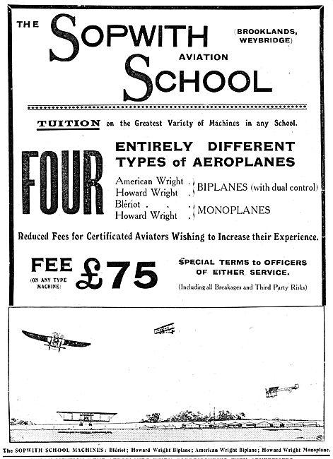 The Sopwith Aviation School - Sopwith School Of Flying