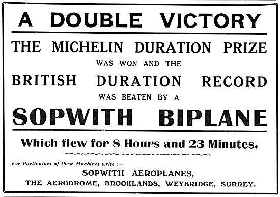 Sopwith Biplane 1912