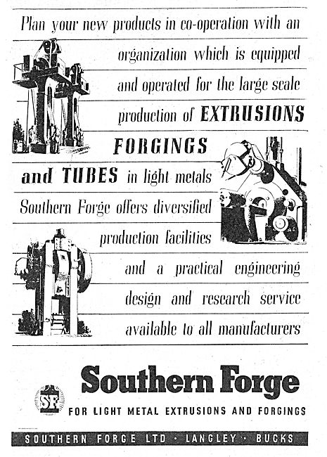 Southern Forge Ltd. Forgings & Tubes For The Aviation Industry
