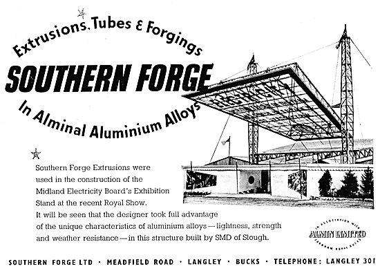Southern Forge - Aluminium Alloy Forgings, Sections & Tubes