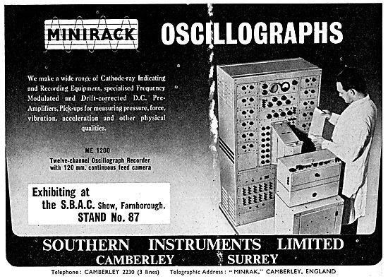 Southern Instruments. Cathode Ray Indicating & Recording Instrume