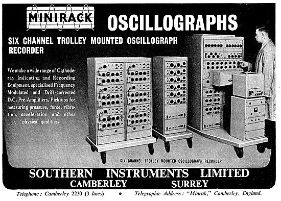 Southern Instruments. Cathode Ray Oscillographs