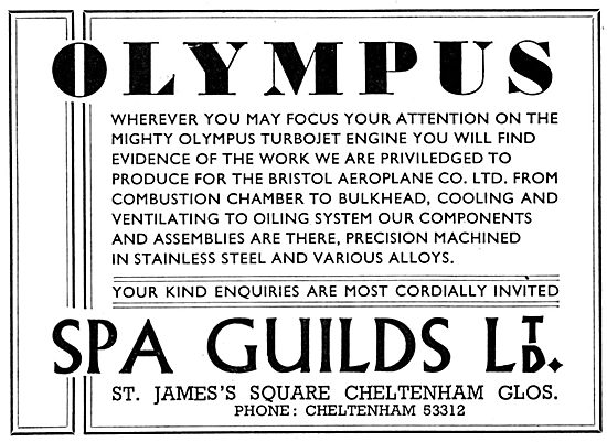 Spa Guilds. Cheltenham. Precision Engineering & Assemblies