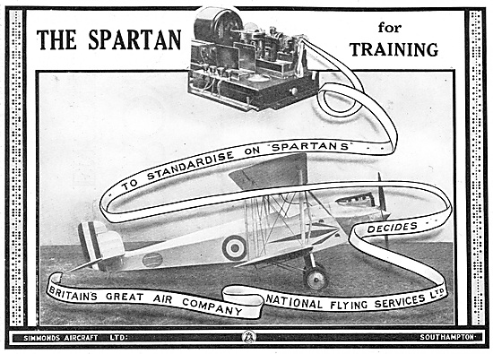 National Flying Services (NFS) Chooses Spartans