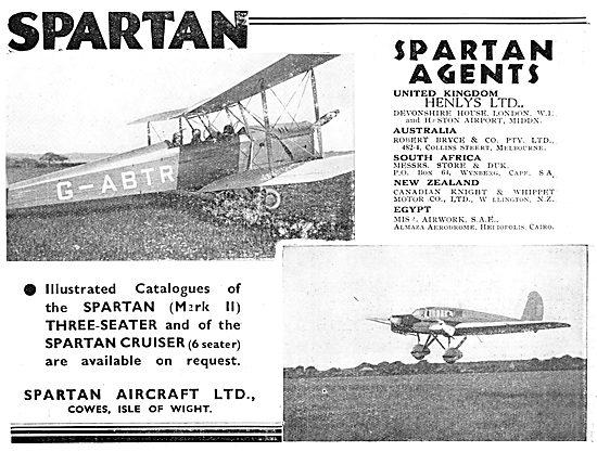 Spartan Mark II Three-Seater G-ABTR