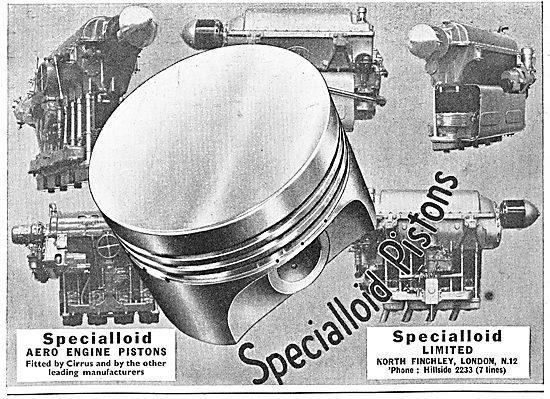 Specialloid Aero Engine Pistons