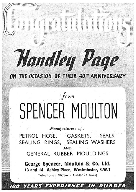 Spencer Moulton Rubber Engineers & Rubber Component Manufacturers