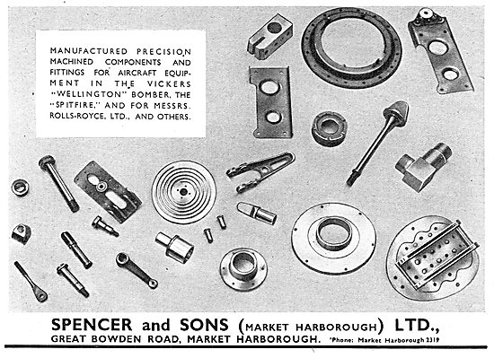 Spencer & Sons Precision Machined Components